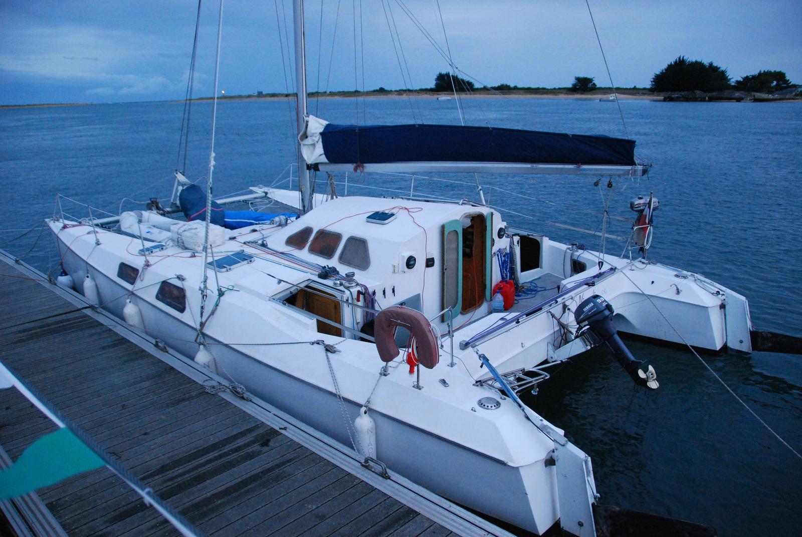 achat vente catamarans occasion louisiane 37 multicoques mag. Black Bedroom Furniture Sets. Home Design Ideas